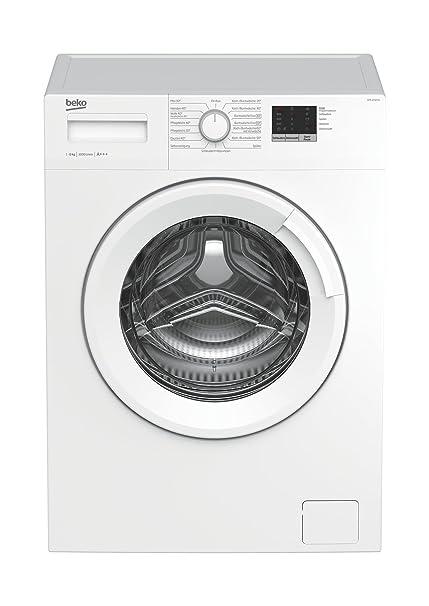 Beko WML 61023 N Waschmaschine Frontlader / 6kg / A+++ / 1000 UpM / Mengenautomatik / weiß / elektronische Kindersicherung /