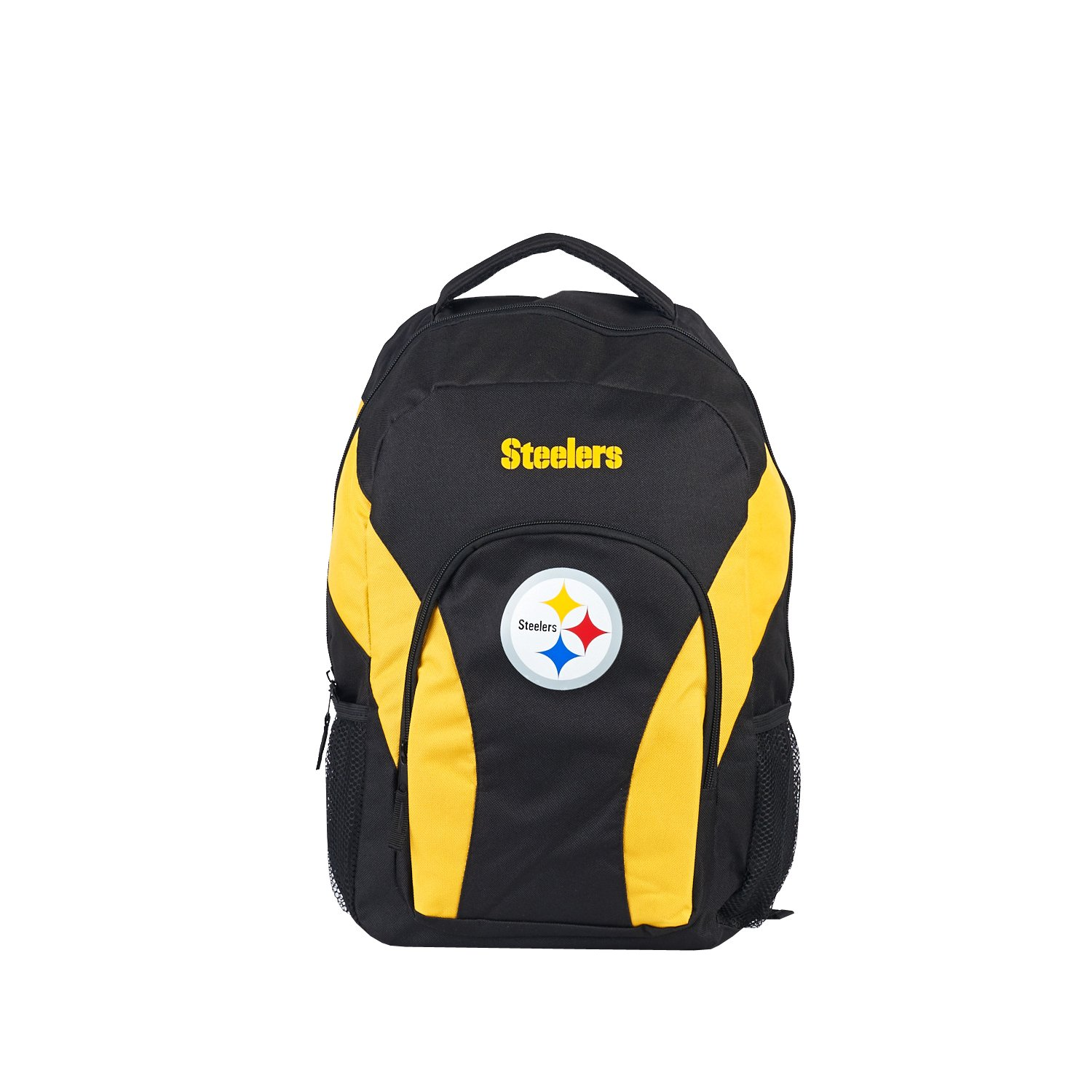 Amazon.com : NFL Pittsburgh Steelers DraftDay Backpack, 18-Inch, Black : Sports & Outdoors