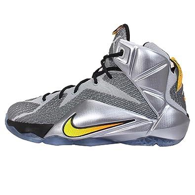 Nike Lebron Xii Xii Xii Big Basketball Chaussure Flight loup gris 3f1dd5