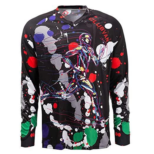 Weimostar Cycling Jersey Men Long Sleeve MTB T Shirt Mountain Bike  Motorcycle Bicycle Clothes Black Size 9f5b0d98a