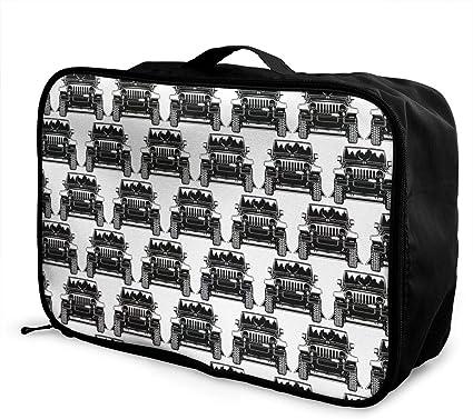 Women /& Men Foldable Travel Duffel Bag Rainboe Cats For Luggage Gym Sports