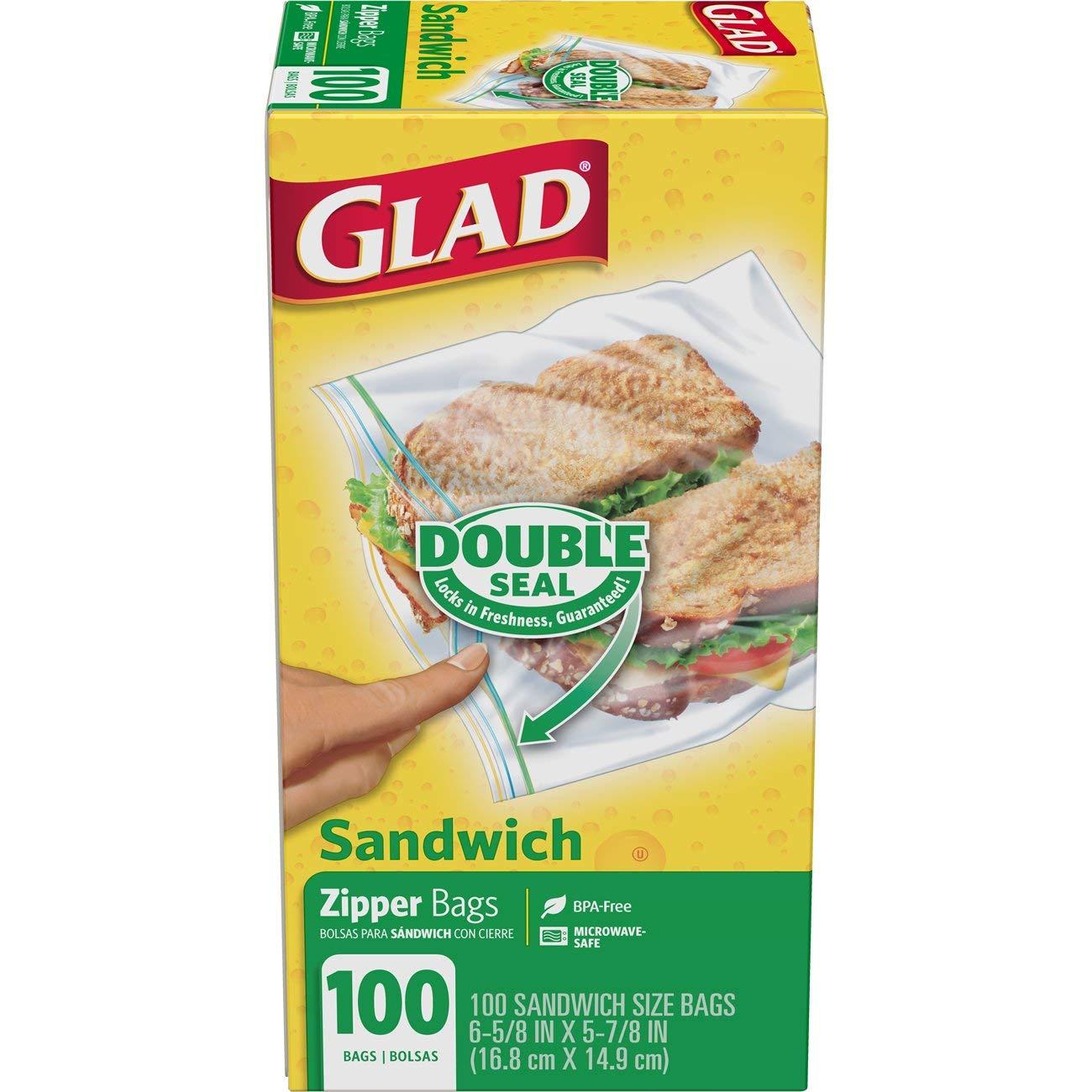 Gallon Freezer Bags, Quart Freezer Bags, Sandwich Bags, Snack Bags, Wrap Variety Pack