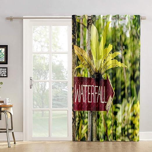 Cortinas de cocina para el cuarto de baño o la ventana, panel para ...