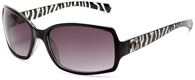 Smoke Black Gu7012 Guess rectangulares para c38 mujer Gafas de Gu7012 sol 7qIFwzvxq