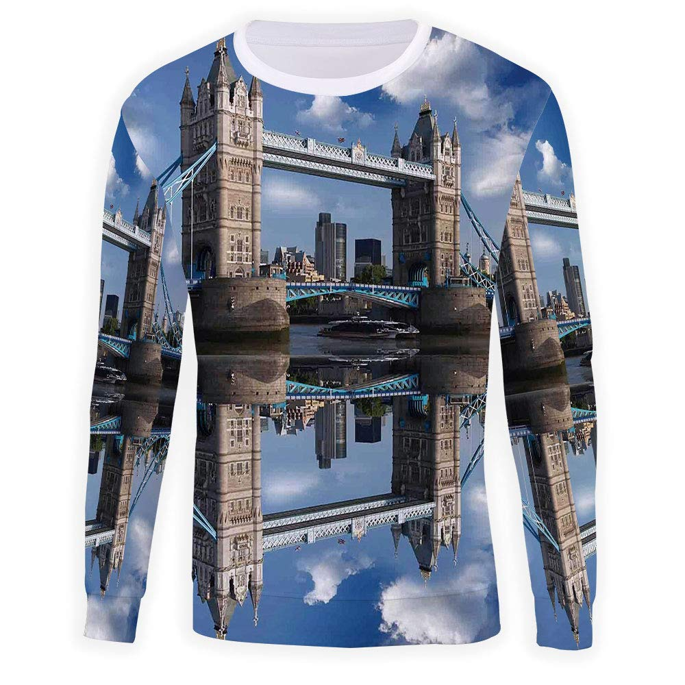 MOOCOM Adult London Crewneck Sweatshirt
