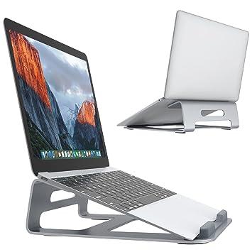 SLYPNOS - Soporte de Portátil Ergonomía para Macbook Ordenador Portátil, Laptop, tableta, Libros, Hecho de Aleación de Aluminio para Refresco y Durable- ...