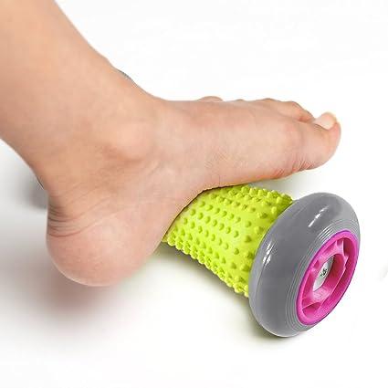 Rodillo para dolores musculares, rodillo de masaje para pies y manos ...