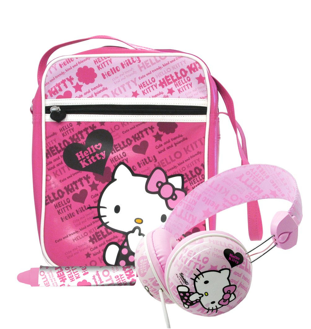 Amazon.es: Ingo Devices Hello Kitty - Pack de accesorios para tablet (incluye bolsa, auriculares, lápiz digital) HEA025Z