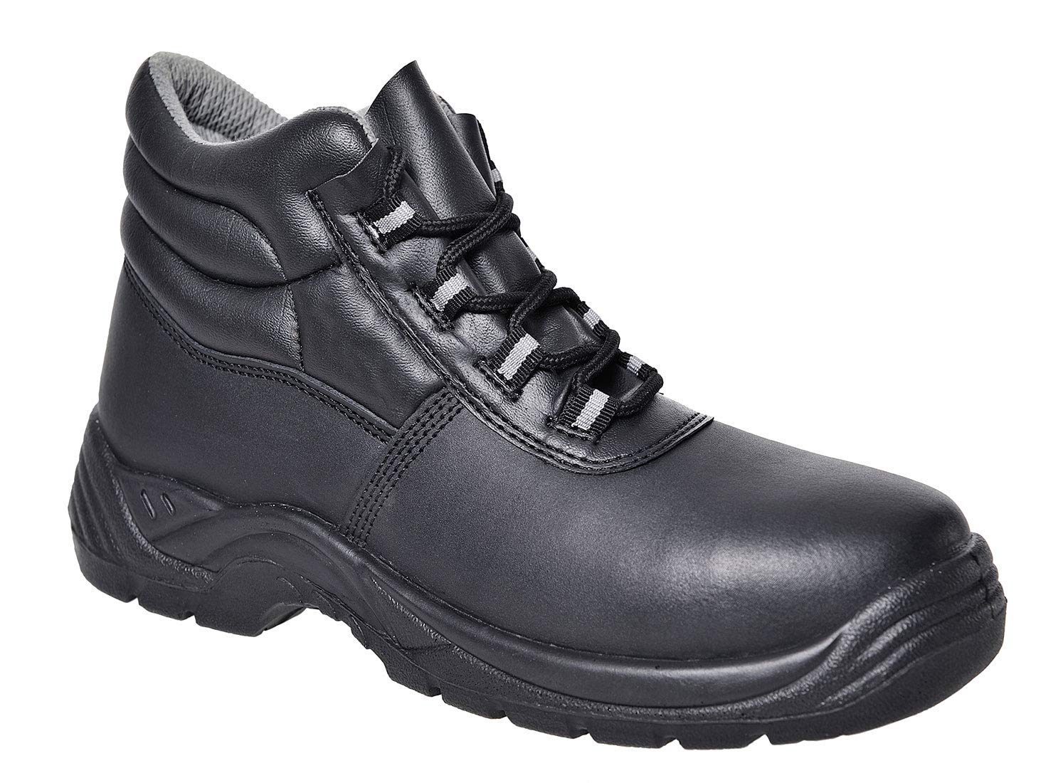 Portwest FC21BKR38 Compositelite Boot 38/5, 5, Black