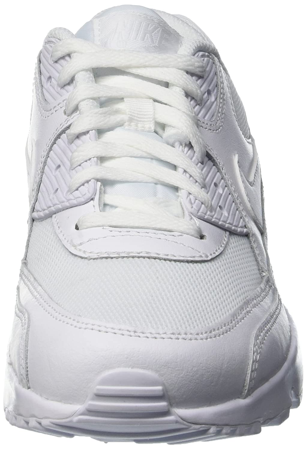 Amazon.com: Nike Mens Air Max 90 Mesh Grade School Athletic & Sneakers White: Shoes