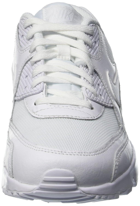 Amazon.com | Nike Mens Air Max 90 Mesh Grade School Athletic & Sneakers White | Sneakers