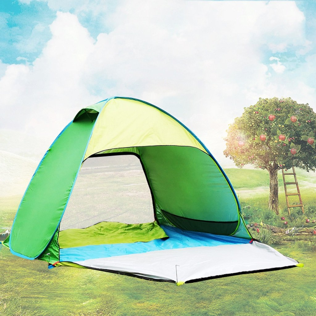 XY&CF Im Freien sofortiges automatisches tragbares Zelt des Zeltes des Zeltes des Zeltes 3 oder 4 des Zeltschutz UVschutz (Farbe : D)