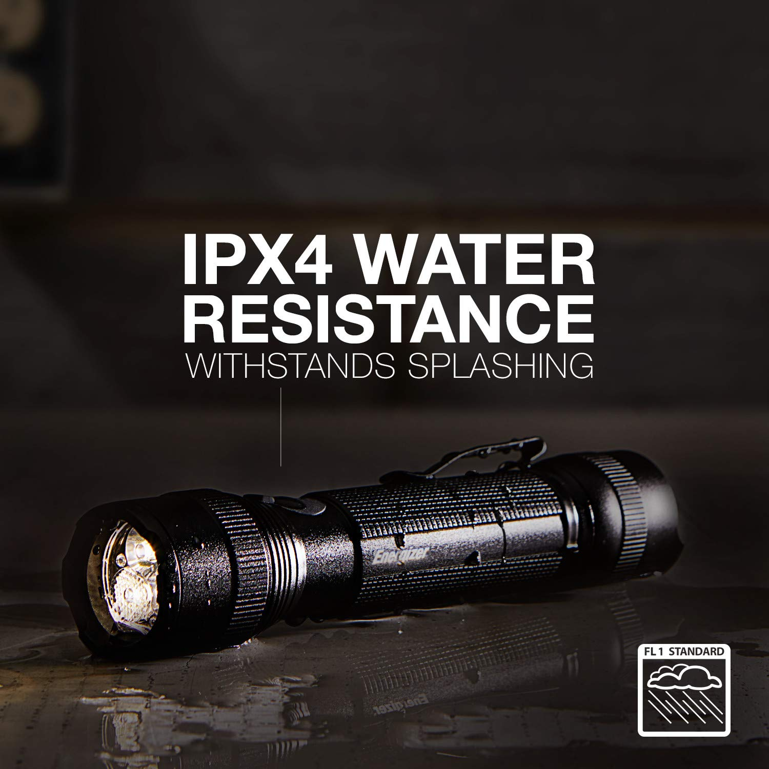 Energizer Tac-r 700 Rechargeable Tactical Flashlight, 700 Lumens 3 Modes by Energizer (Image #4)