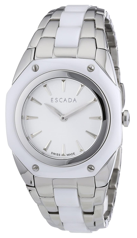 Escada Damen-Armbanduhr NAOMI Analog Quarz verschiedene Materialien E2505011
