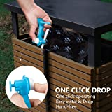 Anksono Hand Free Dog Waste Pooper Scoopers with 15 Pieces Bags
