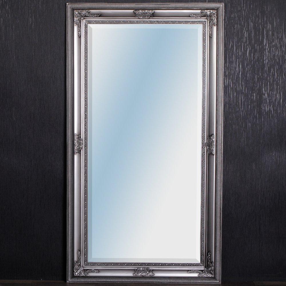 Specchio da parete barocco eve 180 x 100 cm specchio argento ...