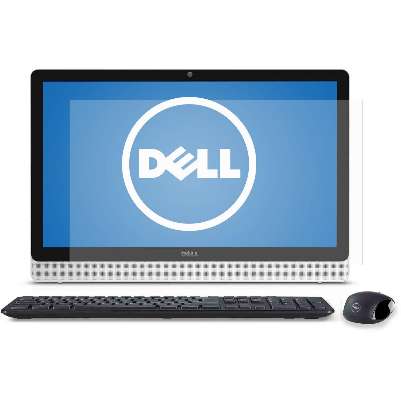 PcProfessionalスクリーンプロテクター( Set of 2 ) for Dell Inspiron 24 3000シリーズ3452 3455 All - in - OneノンタッチデスクトップHigh Clarity Anti ScratchフィルタRadiation +高品質マイクロファイバー布   B019LS9EEO