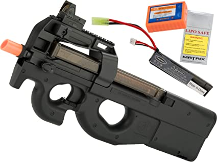Amazon.com: Evike FN Herstal P90 - Caja de cambios de metal ...