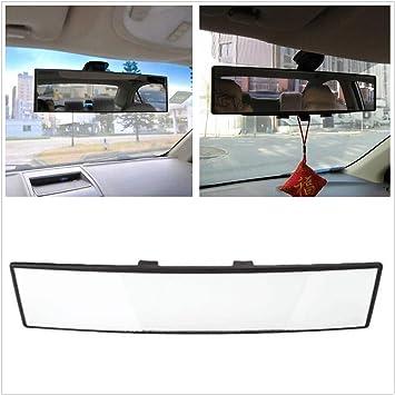 300mm Universal Car Rear View Mirror Convex Curve Interior Wide Blind Spot Safe