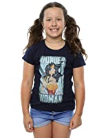 DC Comics Girl's Wonder Woman Poster T-Shirt