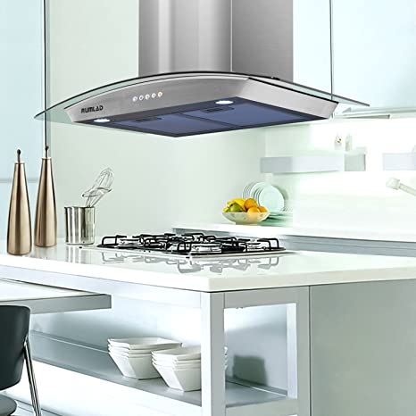 Amazon.com: Wall Mount Range Hood-KUPPET 30\