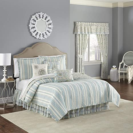 OVS 4 Piece Beautiful blu giallo bianco per letto king size