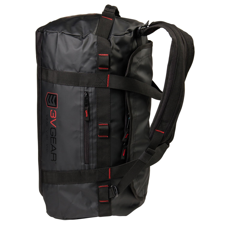 3V Gear Smuggler Adventure Duffel Bag - Heavy Duty Duffel Bag Backpack (60L)