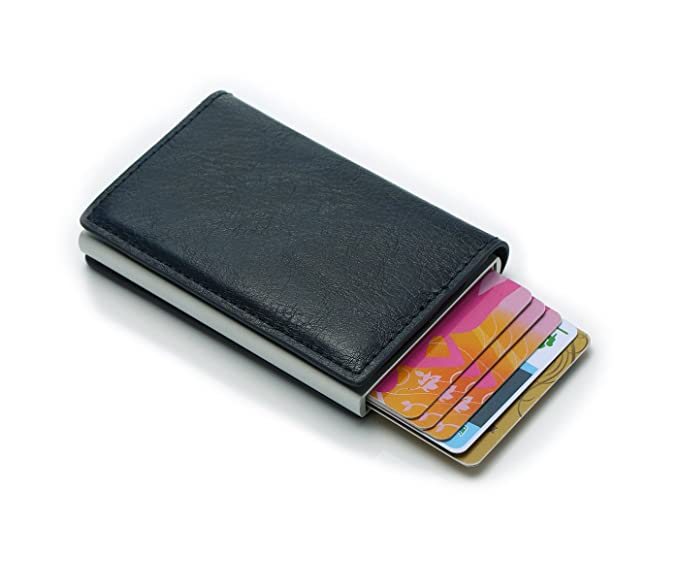 the best attitude ebd2d ca08e Credit Card Wallet | Best Minimalist Wallet | RFID Blocking Aluminum Card  Holder