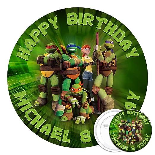 Diseño de las Tortugas Ninja comestible decoración para ...