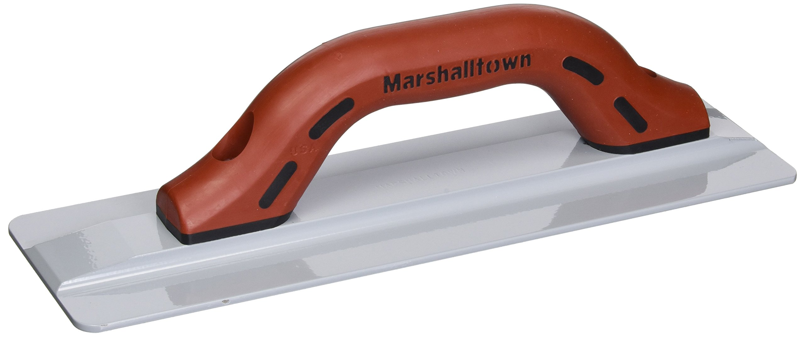 MARSHALLTOWN The Premier Line 734D 12-Inch by 3-3/4-Inch The Hog Magnesium Hand Float with DuraSoft Handle