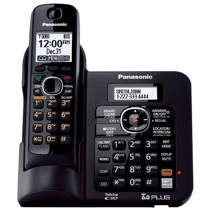 Amazon.com: Panasonic DECT 6.0 Teléfono con ...