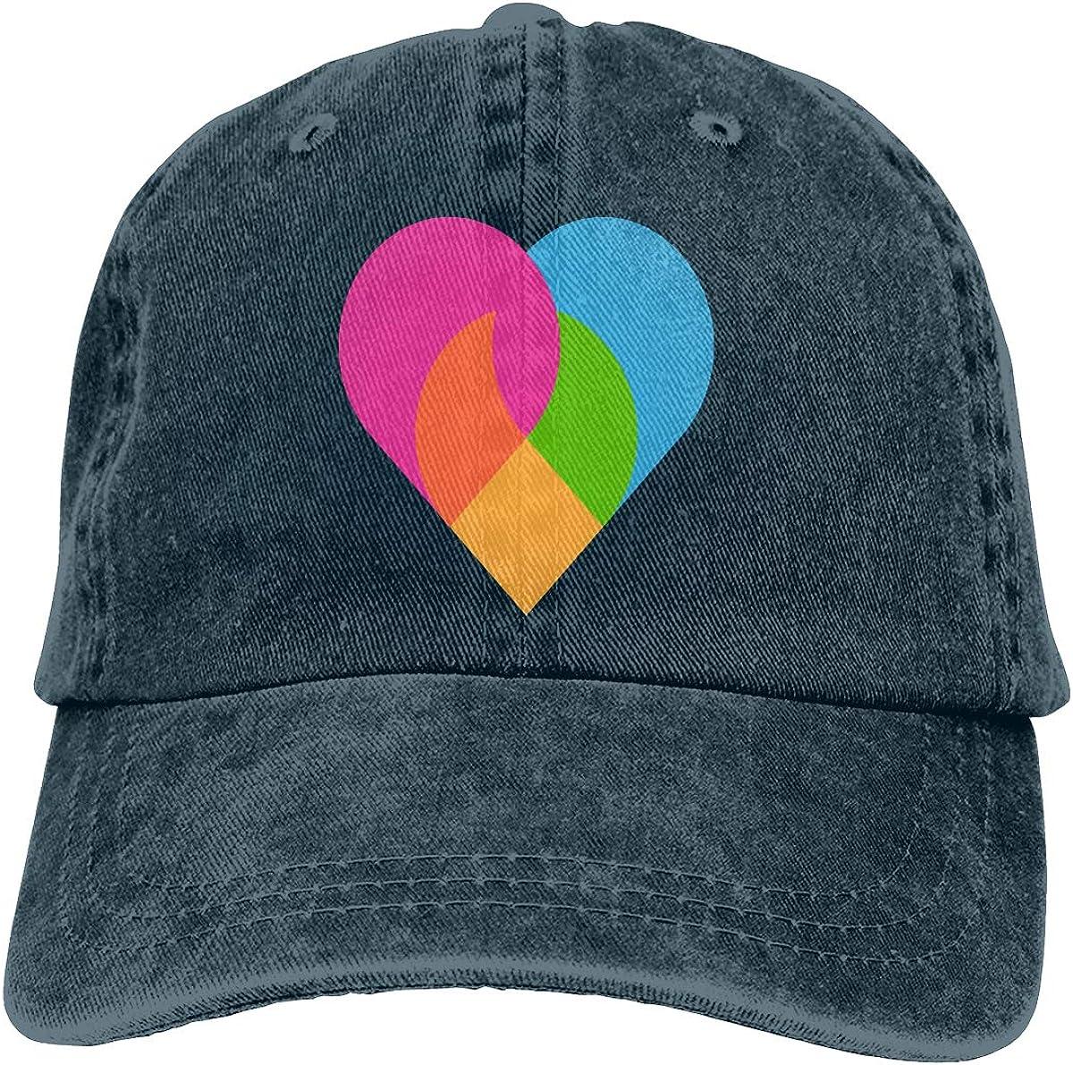Love Unisex Trendy Cowboy Hat Outdoor Sports Hat Adjustable Baseball Cap