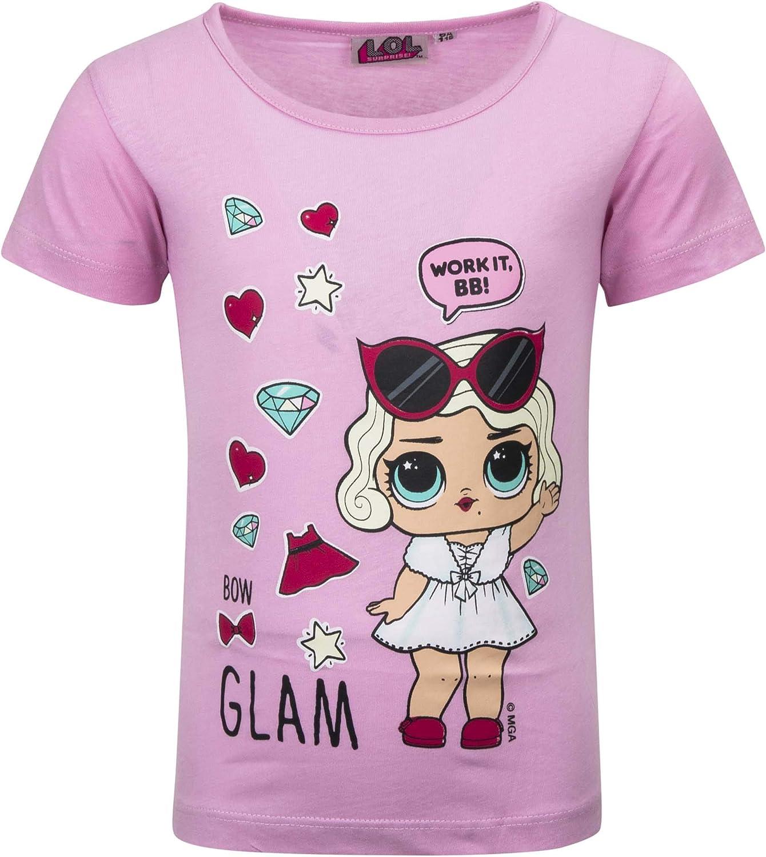 L.O.L. ¡Sorpresa! - Camiseta de manga corta - Full Print - Niña - Producto original con licencia oficial 192-174X: Amazon.es: Ropa y accesorios
