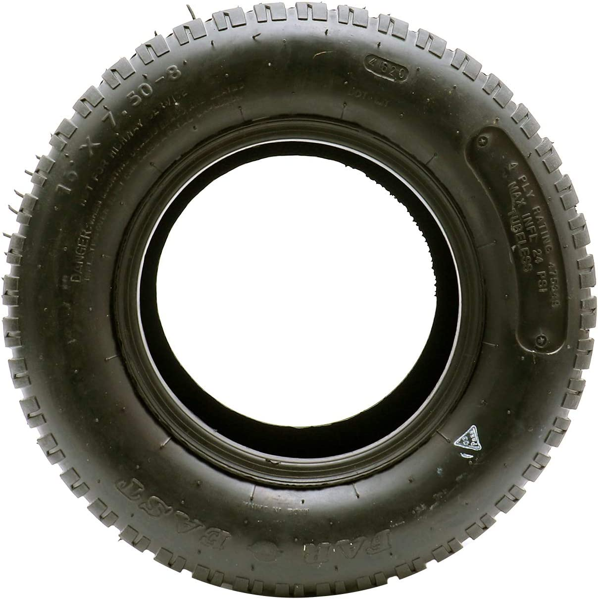 UCUT 16x7.50-8 Turf Tire for Lawn Mower Garden Tractor Riding Mower