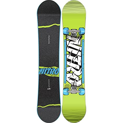 4fbf873810c8 Image Unavailable. Image not available for. Color  New 2016 Nitro Ripper  Youth Snowboard ...