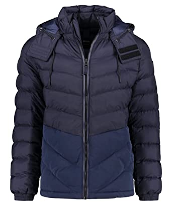 61766d1ad Amazon.com: Hugo Boss Obrook Polyamide Down Navy Jacket: HUGO BOSS ...