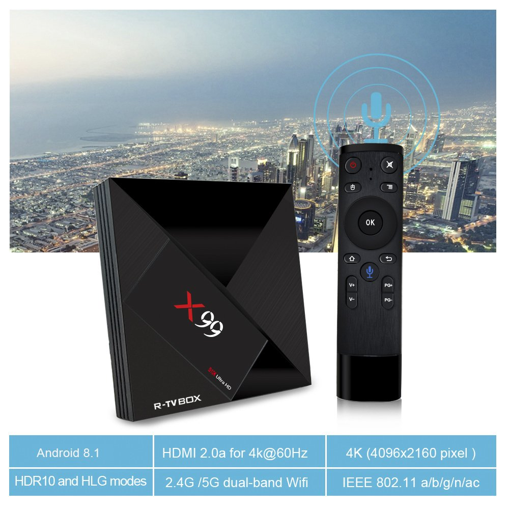Amazoncom Android TV Box 81 with RK 3399
