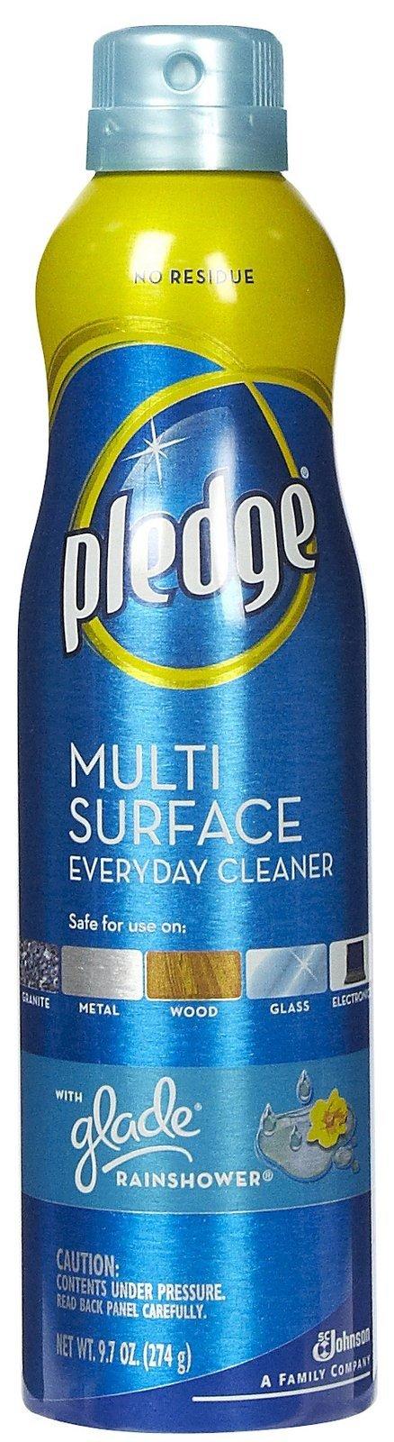 Pledge Multi-Surface Everyday Aerosol, Rainshower, Pack of 18 by Pledge