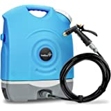 Ivation Multipurpose Portable Spray Washer w/Water Tank – Built in Rechargeable 2200 mAh Lithium Battery and 12v Car Plug - M