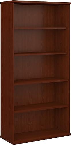 Bush Business Furniture Series C 36W 5 Shelf Bookcase