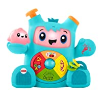 Fisher-Price FXC02 Dance and Groove Rockit, Baby Learning Robot Toy, Teaching First Words, Letters, Numbers, Colours and Shapes, 6 Months