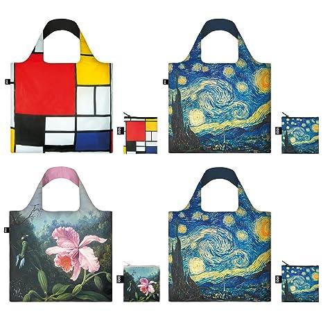 Amazon.com: Loqi CO.mu5 museum5 reutilizable bolsa de la ...