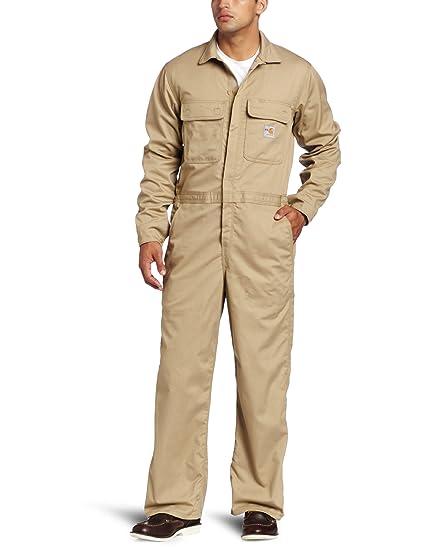 ec753960c305 Amazon.com  Carhartt Men s Big   Tall Flame Resistant Classic Twill ...