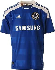 Chelsea Niños Casa Camiseta de fútbol 2011 (Junior) LB Azul: Amazon.es: Deportes y aire libre