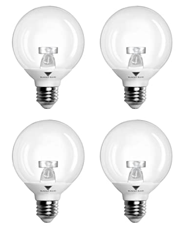 Pack of 4 g25 led bulb 6w warm white 3000k 40w led vanity light pack of 4 g25 led bulb 6w warm white 3000k 40w mozeypictures Images