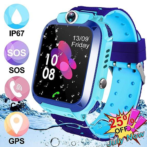 Amenon IP67 - Reloj Inteligente para niños (IP67, Resistente al Agua)