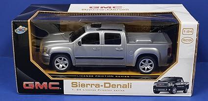 Buy Gmc Sierra Denali Pickup Truck 1 24 Friction Series Silver