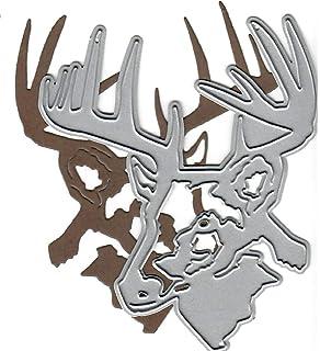 animal Dies...to die for metal cutting craft die Moose head