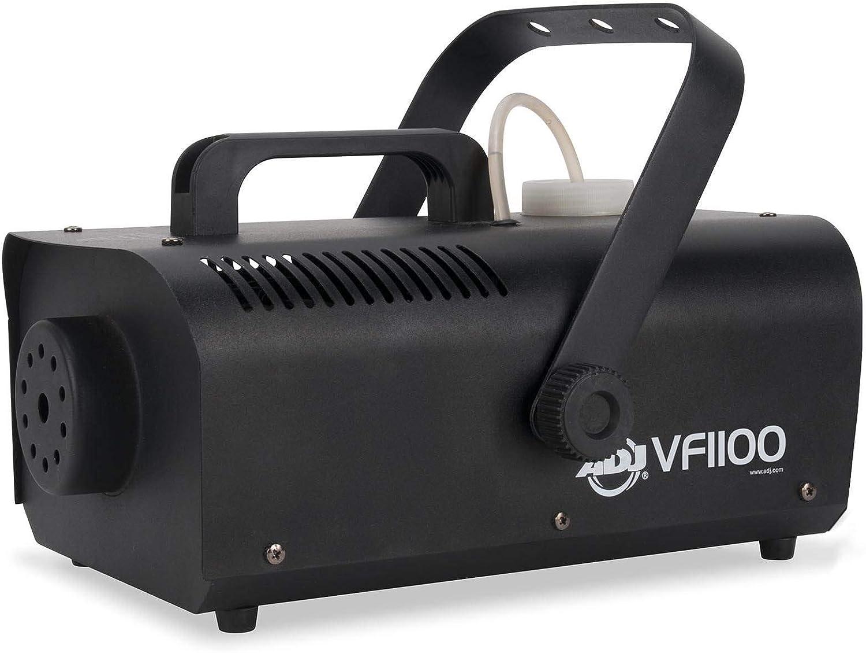American DJ 1000W 1 Liter Medium Mobile Smoke Fog Machine w//Remotes 2 Pack