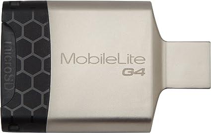 Amazon.com: Kingston - Lector de tarjetas portátil USB 3.0 ...